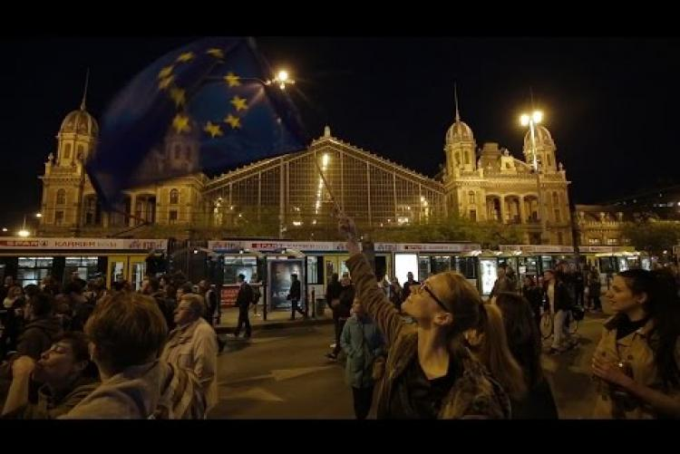 Embedded thumbnail for We are civil society, we are free, we are Hungarians and we are Europeans