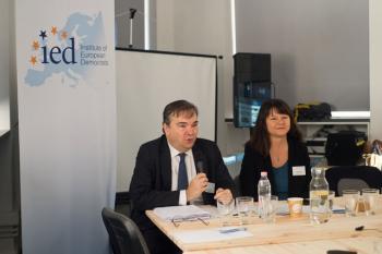 François Pauli és Milada Anna Vachudova